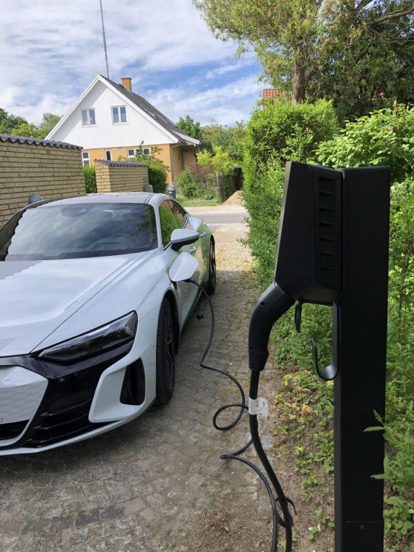 Audi E-TRON GT opladning